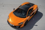 2016 McLaren 570S Coupe in Ventura Orange - Static Front Left Top View