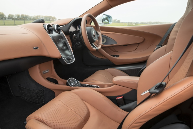 2017 McLaren 570GT Coupe Interior Picture