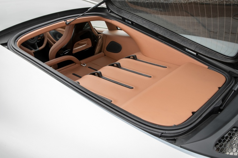2017 McLaren 570GT Coupe Rear Trunk Picture