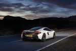 2017 McLaren 570GT Coupe in Pearl White - Static Rear Right View