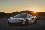 2017 McLaren 570GT Coupe in Ice Silver - Static Front Left View