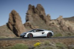 2017 McLaren 570GT Coupe in Ice Silver - Driving Left Side View