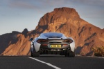 2017 McLaren 570GT Coupe in Ice Silver - Driving Rear View