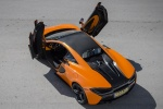 2017 McLaren 570S Coupe in Ventura Orange - Static Rear Left Top View