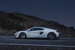 2017 McLaren 570GT Coupe in Pearl White - Static Left Side View