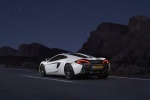 2017 McLaren 570GT Coupe in Pearl White - Static Rear Left Three-quarter View