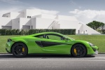 2017 McLaren 570S Coupe in Mantis Green - Static Right Side View