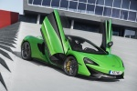 2017 McLaren 570S Coupe in Mantis Green - Static Front Right Three-quarter View