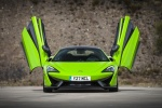 2017 McLaren 570S Coupe in Mantis Green - Static Frontal View