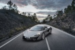 2017 McLaren 570S Coupe in Blade Silver - Static Front Left View