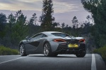 2017 McLaren 570S Coupe in Blade Silver - Static Rear Left Three-quarter View