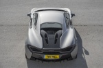 2017 McLaren 570S Coupe in Blade Silver - Static Rear Top View