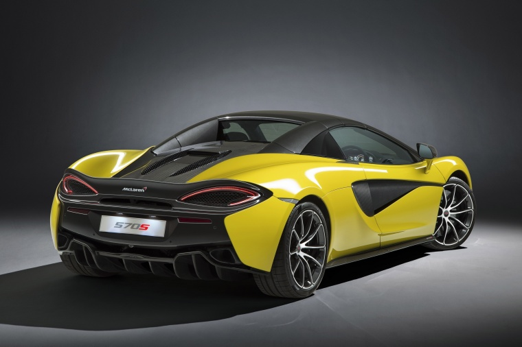 2018 McLaren 570S Spider with top closed Picture