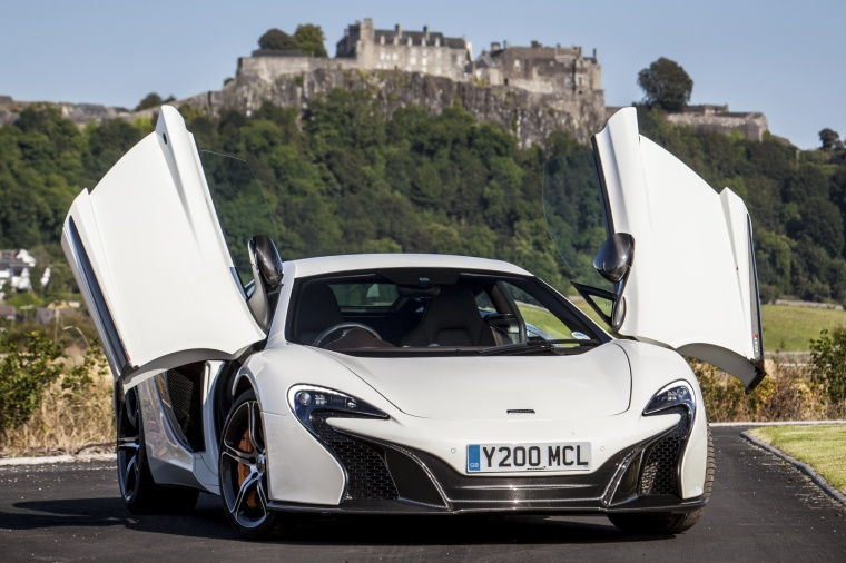 mclaren 650s white. 2015 mclaren 650s coupe with doors open in white from a frontal view mclaren 650s i