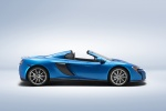 2015 McLaren 650S Spider in Blue - Static Side View