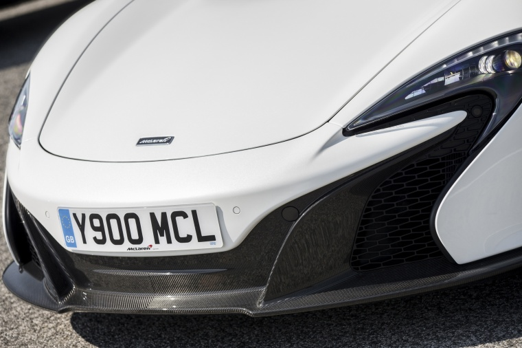 2016 McLaren 650S Coupe Headlight Picture