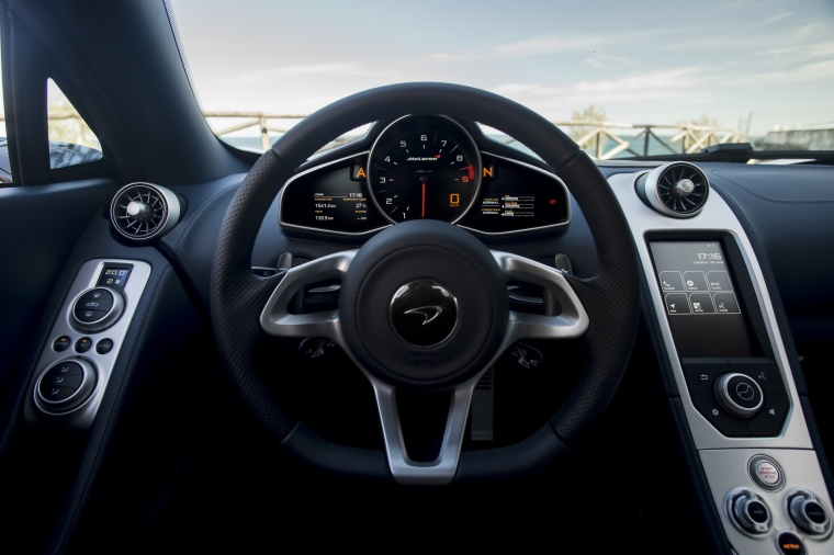 2016 McLaren 650S Spider Cockpit Picture