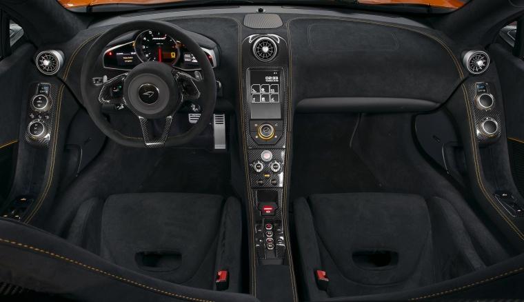 2016 McLaren 650S Spider Cockpit Picture