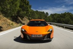 2016 McLaren 650S Coupe in Tarocco Orange - Driving Frontal View