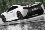 2016 McLaren 650S Coupe in White - Static Rear Left Three-quarter View