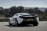 2016 McLaren 650S Coupe in White - Static Rear Left View