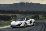 2016 McLaren 650S Spider in White - Static Front Left Three-quarter View