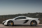 2016 McLaren 650S Spider in White - Static Side View