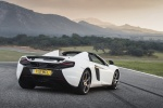 2016 McLaren 650S Spider in White - Static Rear Right Three-quarter View