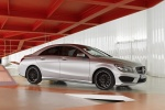 Picture of 2014 Mercedes-Benz CLA250 with Sport Package in Polar Silver Metallic
