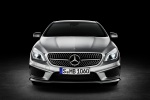 2015 Mercedes-Benz CLA250 with Sport Package in Polar Silver Metallic - Static Frontal View