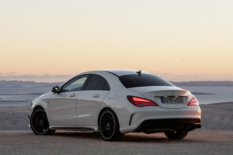2016 mercedes benz cla45 amg in cirrus white color for 2016 mercedes benz cla45 amg