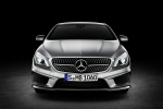 2016 Mercedes-Benz CLA250 with Sport Package in Polar Silver Metallic - Static Frontal View