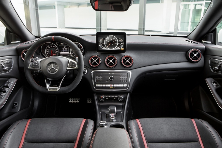2017 Mercedes-Benz AMG CLA45 4-door Coupe Cockpit
