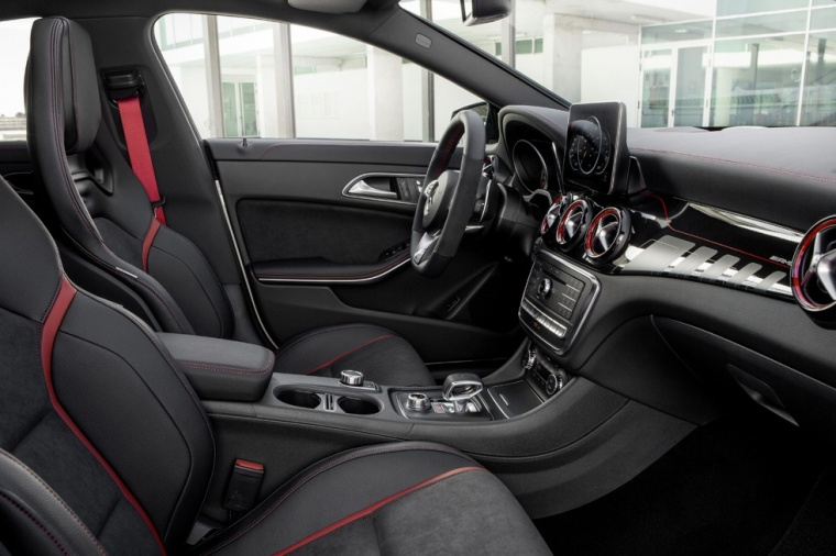 2017 Mercedes-Benz AMG CLA45 4-door Coupe Front Seats Picture