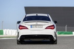 2018 Mercedes-Benz AMG CLA45 4-door Coupe in Cirrus White - Static Rear View