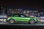 Picture of a 2019 Mercedes-AMG GLA 45 4MATIC from a right side perspective