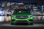 Picture of a 2019 Mercedes-AMG GLA 45 4MATIC from a frontal perspective