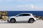 Picture of a 2019 Mercedes-AMG GLA 45 4MATIC in Polar White from a left side perspective