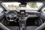 Picture of a 2019 Mercedes-AMG GLA 45 4MATIC's Cockpit in Polar White