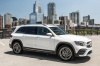 2020 Mercedes-Benz GLB 250 in Polar White from a front right three-quarter view