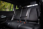 Picture of a 2020 Mercedes-Benz GLB 250's Rear Seats in Black