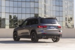 Picture of a 2020 Mercedes-Benz GLB 250 4MATIC in Mountain Gray Metallic from a rear left perspective