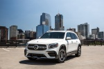 2020 Mercedes-Benz GLB 250 in Polar White - Static Front Left View
