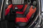 Picture of a 2020 Mercedes-Benz GLB 250 4MATIC's Rear Seats in Classic Red / Black