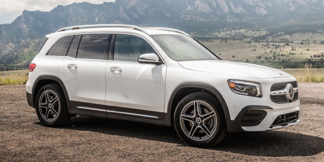 Research the 2020 Mercedes-Benz GLB-Class
