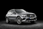 2016 Mercedes-Benz GLC-Class in Iridium Silver Metallic - Static Front Right Three-quarter View