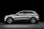 2016 Mercedes-Benz GLC-Class in Iridium Silver Metallic - Static Side View