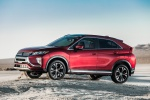 Picture of a 2019 Mitsubishi Eclipse Cross SEL S-AWC in Red Diamond from a left side perspective