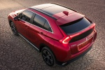 2020 Mitsubishi Eclipse Cross SEL S-AWC in Red Diamond - Static Rear Left Three-quarter Top View