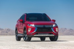 2020 Mitsubishi Eclipse Cross SEL S-AWC in Red Diamond - Static Frontal View